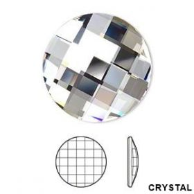 Cristale de Cusut Swarovski, 25x18 mm, Culori: Jet (1 bucata)Cod: 3250 Cristale Swarovski fara Adeziv, 20 mm, Crystal (1 buc/pachet)Cod: 2035