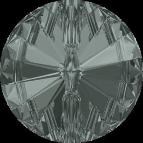 Swarovski Nasturi 3015, Marimea: 12mm, Culoare: Black Diamond (72 buc/pachet)