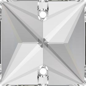 Pandantiv Swarovski, 18 mm, Culoare: Crystal (1 bucata)Cod: 6028 Cristale de Cusut Swarovski, 16 mm, Culori: Crystal Satin (1 bucata)Cod: 3240