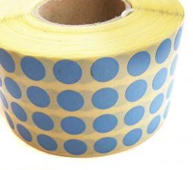 Etichetare Buline Autoadezive 10x10 (13480 buline/rola) Albastru