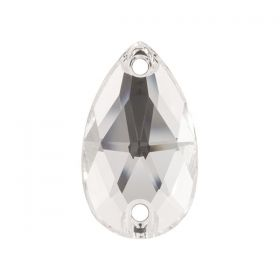 Cristale de Cusut Swarovski, 18x13 mm, Culori: Crystal (1 bucata)Cod: 3250 Cristale de Cusut Swarovski, 18x10.5 mm, Culoare: Crystal (1 bucata)Cod: 3230