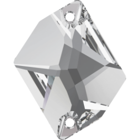 Pandantiv Swarovski, 18 mm, Culoare: Crystal (1 bucata)Cod: 6264-MM18 Cristale de Cusut Swarovski, 26x21 mm, Crystal (1 bucata)Cod: 3265