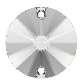 Cristale de Lipit, 12.5 mm, Culoare: Light Siam (1 bucata)Cod: 2720 Cristale de Cusut Swarovski, Marime: 14mm, Culoare: Crystal (1 bucata)Cod: 3200