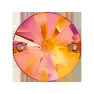 Pandantiv Swarovski, 18 mm, Culoare: Crystal (1 bucata)Cod: 6028 Cristale de Cusut Swarovski, Marime: 14mm, Culoare: Crystal Astral Pink (1 bucata)Cod: 3200