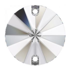 Cristale de Cusut Swarovski, 12.5x13.6 mm, Culoare: Crystal (1 bucata)Cod:  3708 Cristale de Cusut Swarovski, 16mm, Culoare: Crystal (1 bucata)Cod: 3200