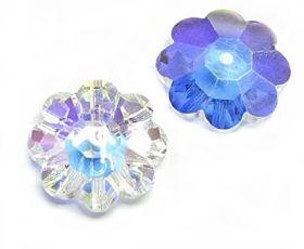 Cristale de Lipit, 12.5 mm, Culoare: Light Siam (1 bucata)Cod: 2720 Cristale de Cusut 3700-MM12 (1 bucata/pachet) Crystal AB