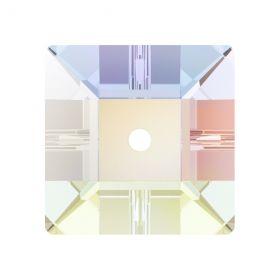 Swarovski Cristale de Cusut, 8 mm, Culori: Crystal AB (1 bucata)Cod: 3400