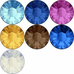 Cristale de Lipit 2038, Marimea: SS16, Culoare: Diferite Culori (144 buc/pachet)  Cristale de Lipit 2038, Marimea: SS16, Culoare: Diferite Culori (144 buc/pachet)