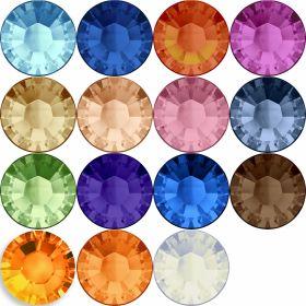 Swarovski Cristale de Lipit 2038, Marimea: SS20, Culoare: Diferite Culori (144 buc/pachet)
