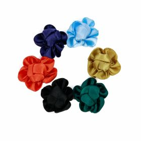 Aplicatii Textile Aplicatii de Cusut, Model Floare, diametru 2 cm(60 buc/pachet)Cod: R03