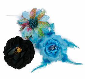 Decorare Brosa Decorativa Trandafir, diametru 11 cm (1 bucati/pachet) Cod: T11309