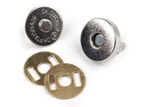 Capse Capse magnetice, Ø15 mm (10 set / pachet) Cod: 060590