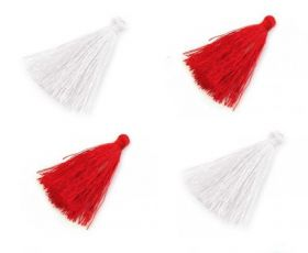 Decorare Ciucuri decorativi, lungime: 40 mm (10 bucati/pachet) Cod: 510491