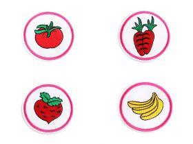Decorare Embleme Termoadezive (10 bucati/pachet) Cod: 390632