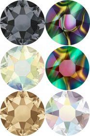 Cristale de Lipit 2078, Marimea: SS34, Culoare: Rose (144 buc/pachet)  Cristale de Lipit 2078, Marimea: SS16, Culoare: Crystal-AB (144 buc/pachet)