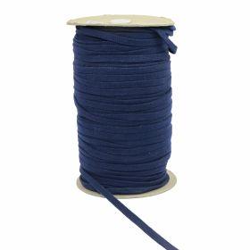Decorare Snur Siret Bumbac Bleumarin, 10mm (150 m/rola)