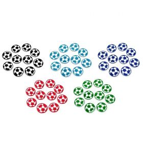 Decorare Embleme Termoadezive, Minge de Fotbal, 35 mm (10 buc/pachet) Cod: 390332
