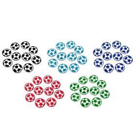 Embleme Termoadezive (12 bucati/pachet)Cod: M8276-2 Embleme Termoadezive, Minge de Fotbal, 35 mm (10 buc/pachet) Cod: 390332