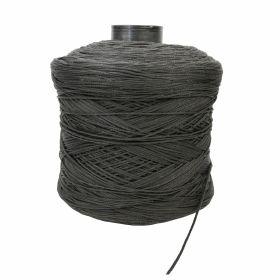 Croitorie Elastic Rotund pentru Masti, Ø 2,5 mm, Negru (1,8 KG)