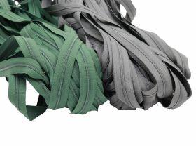 Cursori Metalici pentru Fermoare, spira 3 mm (500 bucati/pachet) Fermoare Metraj, spira 3 mm, Color (50 metri/pachet)