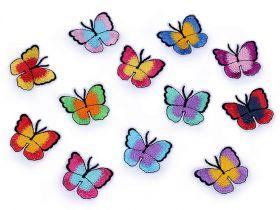 Embleme Termoadezive (12 bucati/pachet)Cod: F11152 Embleme Termoadezive, Fluture (10 bucati/pachet) Cod: 400025