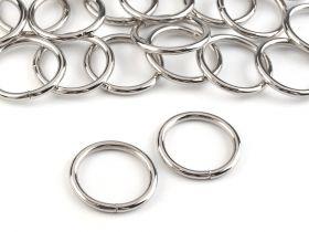 Accesorii metal - Inele si bratari metalice decorative Steinless Steel O-Ring, diameter 20 mm (25 pcs/pack) Code: 730808
