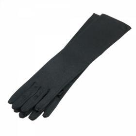 Manusi Satin Negre, 53 cm (1 pereche/pachet) Manusi Satin Negre, 38 cm (1 pereche/pachet)