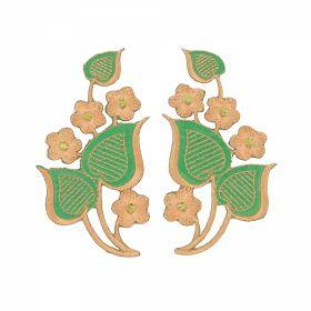 Embleme Termoadezive, Curcubeu (12 bucati/pachet)Cod:4249 Embleme Termoadezive, Floare (12 bucati/pachet) Cod: F12132