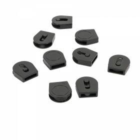 Decorare Opritori Plastic, Negru (200 bucati/set) Cod: 7509