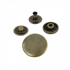 Cleme din Plastic pentru Tapiterie, 2.5 cm (1.000 pcs/pachet) Cod: GRG-PLS Capse din Metal, 20 mm, Antic-brass (1.000 seturi/pachet)