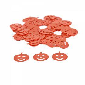 Paiete Decorative, diametru: 6 mm (91.44 metri/rola)Cod: PAIETE-2 Paiete, 13 mm, Model Dovleac (100 gr/pachet)