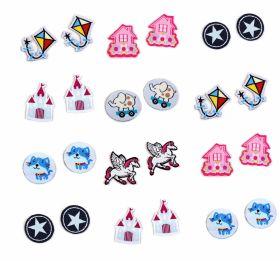 Embleme Termoadezive, Death (2 buc/pachet) Cod: 390431 Embleme Termoadezive (10 bucati/pachet) Cod: 390677
