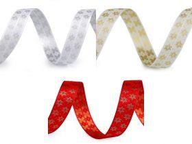 Decorare Panglica Decorativa cu Stelute, latime 15 mm (25 m/rola) Cod: 430514