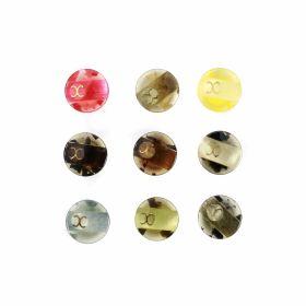 Croitorie Nasturi Plastic cu Picior, Marime 24 Lin (50 bucati/pachet)Cod: 9067/24