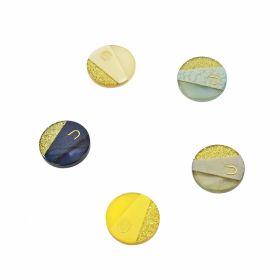 Croitorie Nasturi Plastic cu Picior, Marime 36 Lin (50 bucati/pachet)Cod: 9007/36