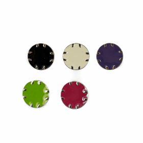 Croitorie Nasturi Metalici cu Picior, 20.3 mm (25 bucati/pachet)Cod: 1870Z/32