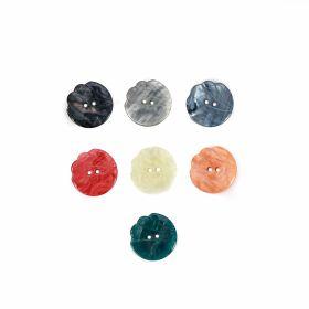 Croitorie Nasturi cu Doua Gauri, 14 mm (50 buc/punga)Cod: 83293/22