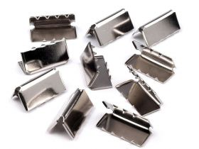 Capete de Snur (100 bucati/set) Cod: KS-ZB0007 Terminatie pentru Panglica, 20 mm (25 bucati/pachet)Cod: 080673