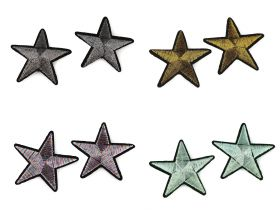 Embleme Termoadezive (12 bucati/pachet)Cod: M8276-2 Embleme Termoadezive, Stea (10 buc/pachet) Cod: 390628-48mm
