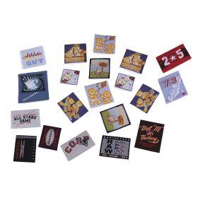 Embleme Termoadezive ( 10 bucati/pachet) Cod: 390678 Embleme/Aplicatii Termoadezive (10 buc/pachet) Cod: 400078