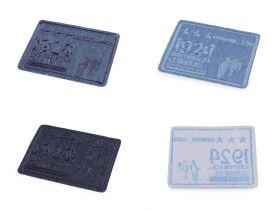 Embleme Termoadezive, Fluture (25 bucati/pachet)Cod: F12881  Embleme Termoadezive (10 buc/pachet) Cod: 400125
