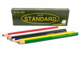 Creta, Creioane si Centimetre Croitorie Creion pentru Croitorie cu Autoascutire  (12 bucati/cutie)