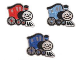 Decorare Embleme Termoadezive, Locomotiva (10 buc/pachet) Cod: 390539