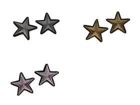 Embleme Termoadezive, Steag (5 buc/pachet) Cod: 400076 Embleme Termoadezive, Stea (10 buc/pachet) Cod: 390628-38mm