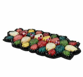 Aplicatii de Cusut, Model Floare (12 buc/pachet) Aplicatii Vestimentare, Multicolore, lungime 16 cm (1 bucati/pachet) Cod: H780