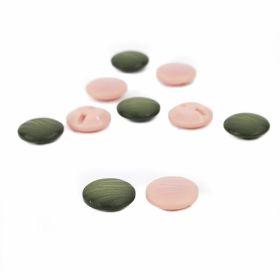 Nasturi pentru Copii, 15.4 mm (20 bucati/pachet)Cod: 120573 Nasturi Plastic cu Picior, Marime 36 Lin (50 bucati/pachet)Cod: ART8-51