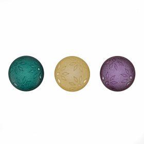Nasturi cu Picior, din Plastic, 25 mm (50 buc/pachet) Cod: 04-171/48 Nasturi Plastic cu Picior, Marime 36 Lin (50 bucati/pachet)Cod: ART8-50