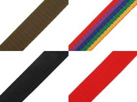 Chinga elastica, textila sau polipropilena Chinga Polipropilena, 30 mm, Rosu (25 metri/rola) Cod: 490053
