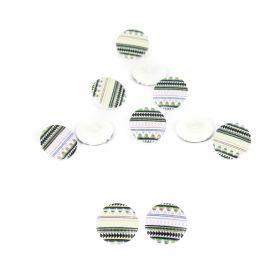 Nasturi Plastic cu Picior, Marime 28 Lin (100 bucati/pachet)Cod: ART8-55 Nasturi cu Picior, 22.9 mm (100 bucati/punga) Cod: TR15/36
