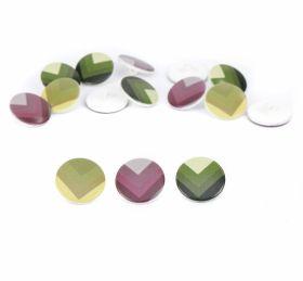 Nasturi Plastic cu Picior, Marime 28 Lin (100 bucati/pachet)Cod: TR30 Nasturi cu Picior, 22.9 mm (100 bucati/punga) Cod: TR15/36
